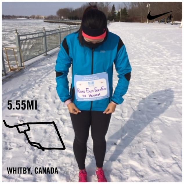 5.55 miles for Meg