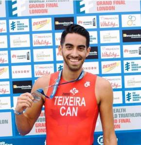 Representing Canada at the World Triathlon Championships