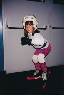 Mallory a few months after diagnosis at age 6 in 2001.