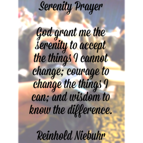Closing speaker Joe Solowiejczyk quoted this prayer during his talk.
