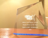 Diabetes, Exercise and Sports Association Award in 2008. Mallory also got a $5,000 scholarship along with the hardware.