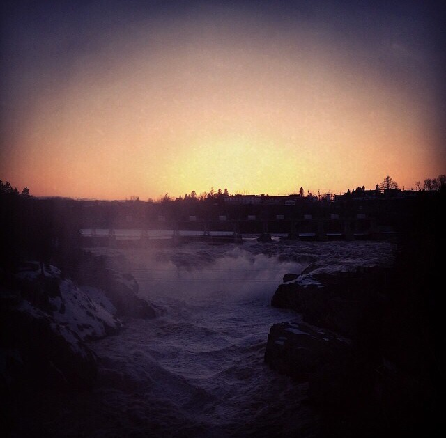 Grand Falls, New Brunswick. | Courtesy of SebInspires Instagram |