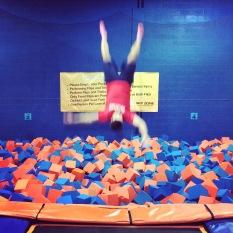 Jeff the acrobat.